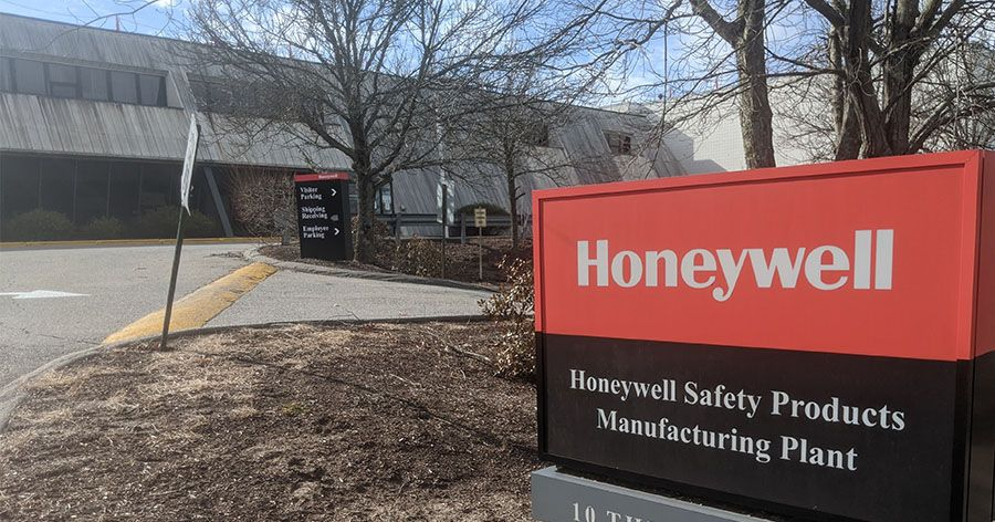 Honeywell factory building