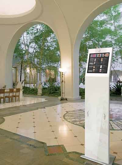 Lobby Kiosks Provide Efficient Visitor Registration and Contactless Safety