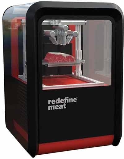 3D printer for cuts of meat