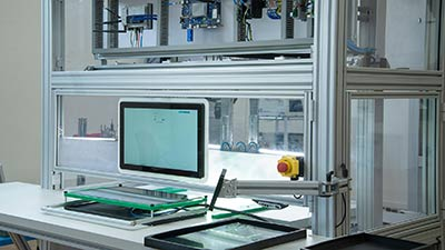 AI-enabled visual inspection machine