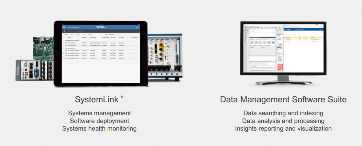 National Instruments System Link Data Management Software Suite