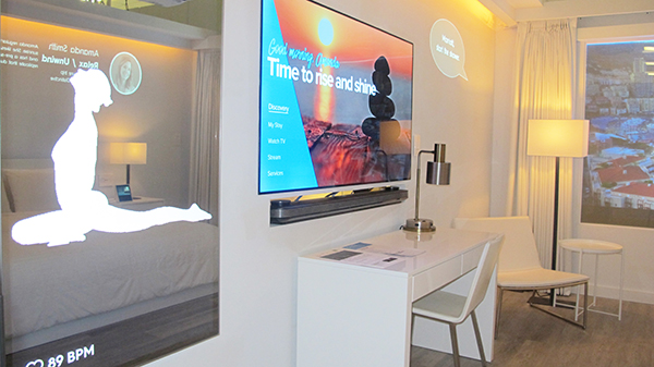 Marriott International Room of the future