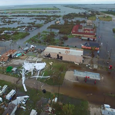drones Hurricane Harvey