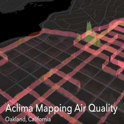 Aclima IoT air pollution