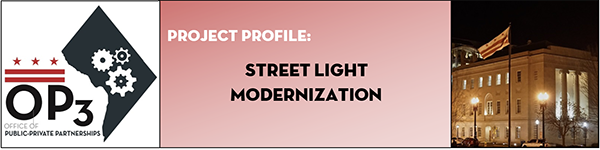 IoT street light banner
