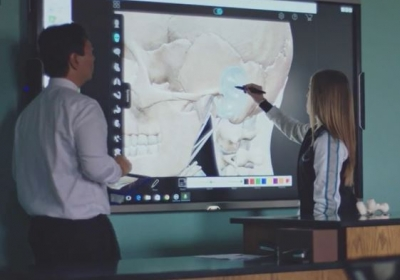 Interactive white boards Intel