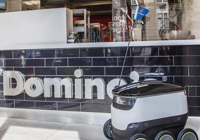 Domino's delivery robot, Starship Technologies